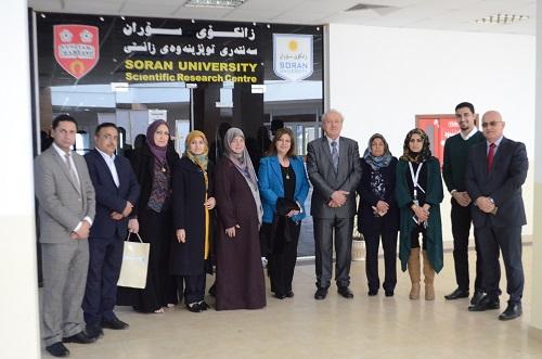 المركز الوطني الريادي لبحوث السرطان بجامعة بغداد يوقع مذكرة تفاهم مع جامعة سوران