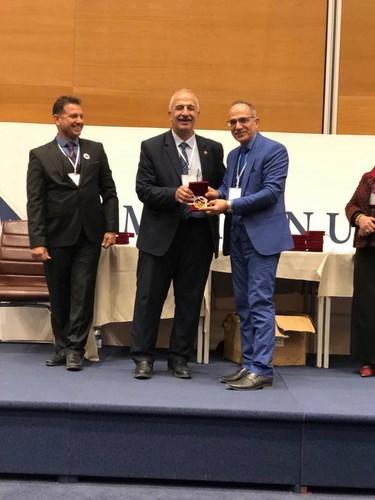 براءة اختراع في جامعة بغداد تحصل على الوسام الذهبي في مؤتمر للمخترعين في السليمانية