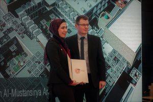 جامعة بغداد تحصد جائزة التميّز العالمية الخاصة بالمشاريع المعمارية
