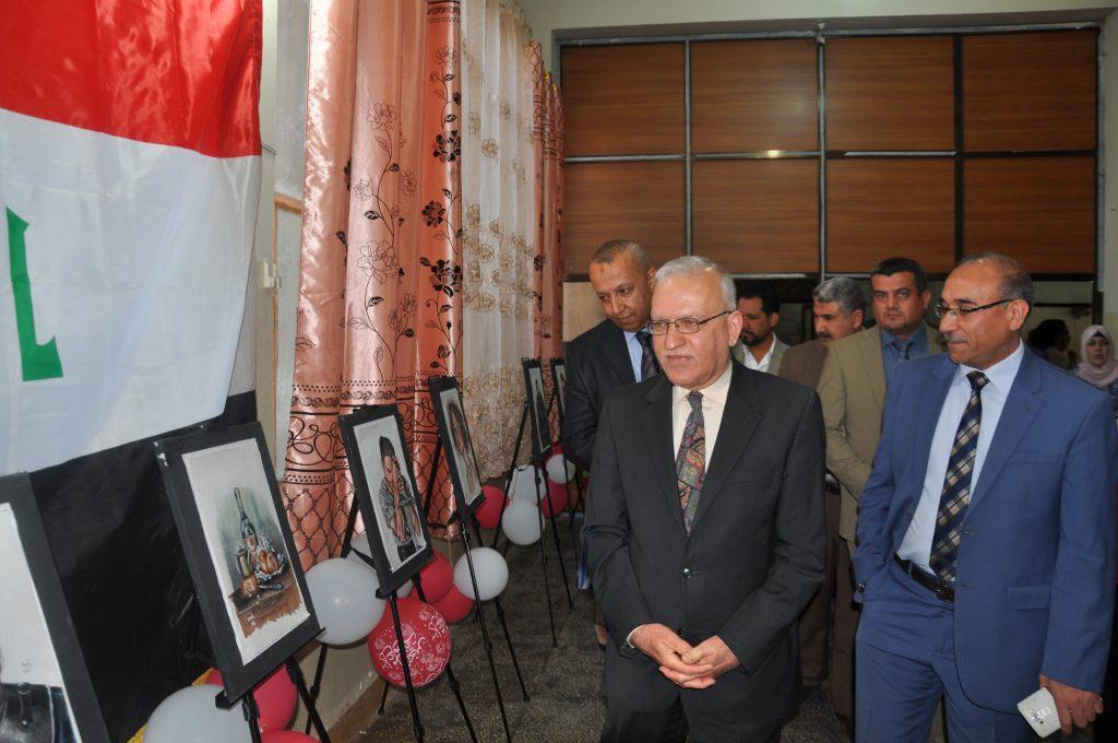 قسم شؤون الاقسام الداخلية في جامعة بغداد يقيم المهرجان السنوي الثاني الخاص بالمواهب