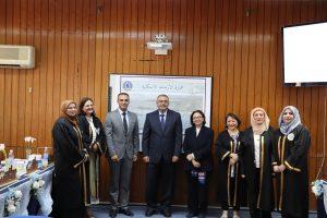 كلية الهندسة بجامعة بغداد تفتتح معرضها للاعمال العلمية بحضور وزير التعليم العالي و البحث العلمي
