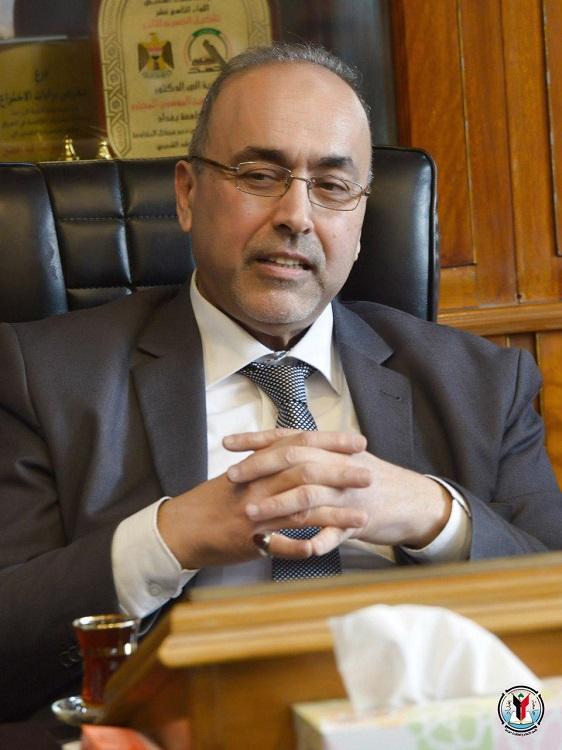 رئيس جامعة بغداد يهنئ المرأة بعيدها العالمي
