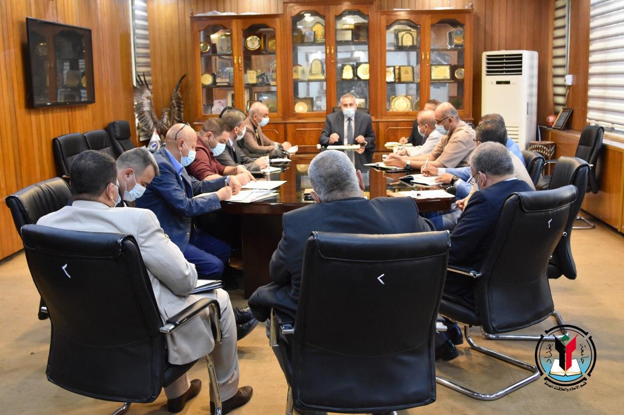 رئاسة جامعة بغداد تشكل لجنة لتطوير بناها التحتية