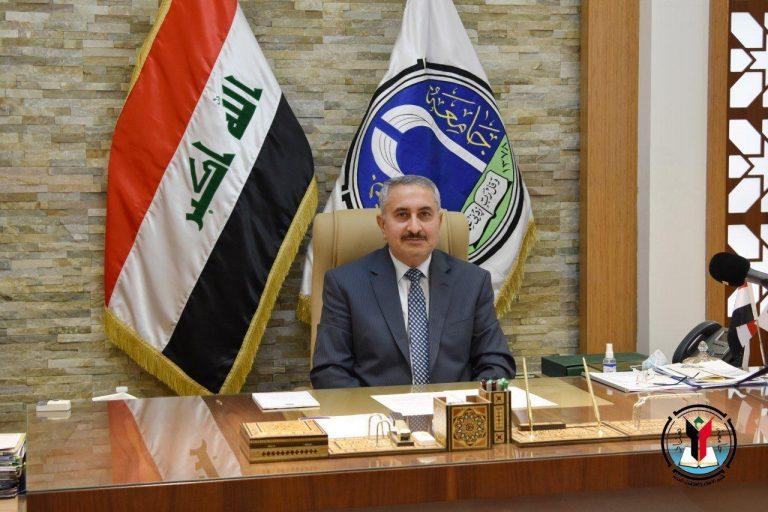رئيس جامعة بغداد يقدم التهاني والتبريكات للكوادر التدريسيه المعطاء بمناسبه يوم المعلم